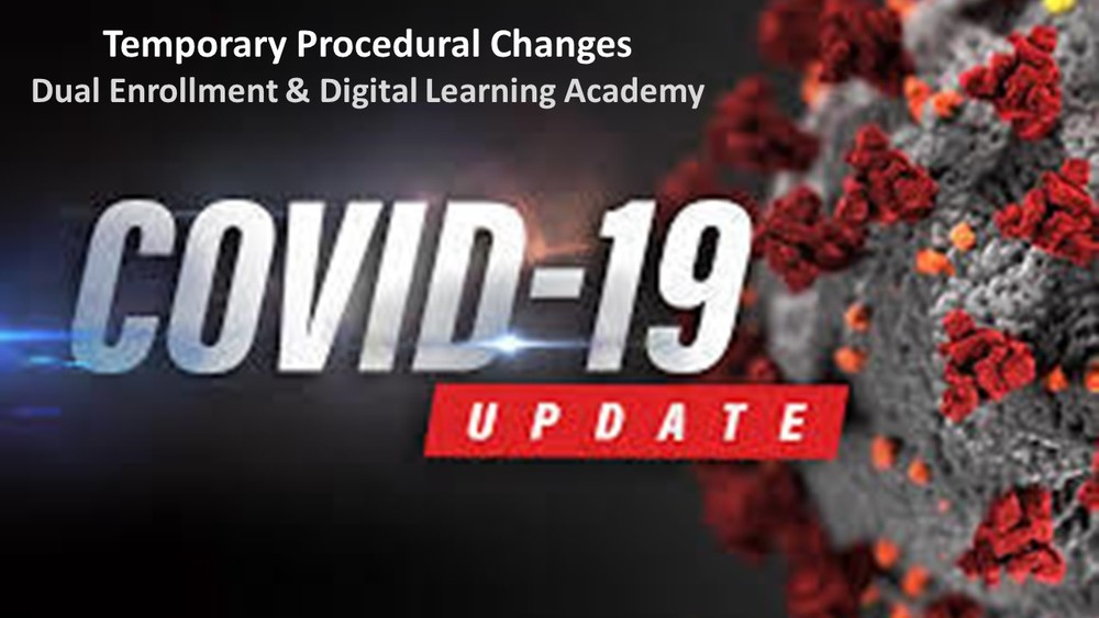 Temporary Procedural Changes Due to COVID-19