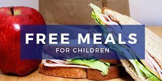 Free Meals to All Students!