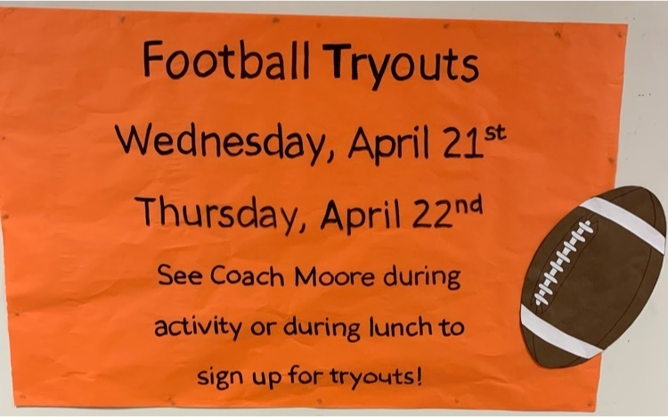 Football tryout